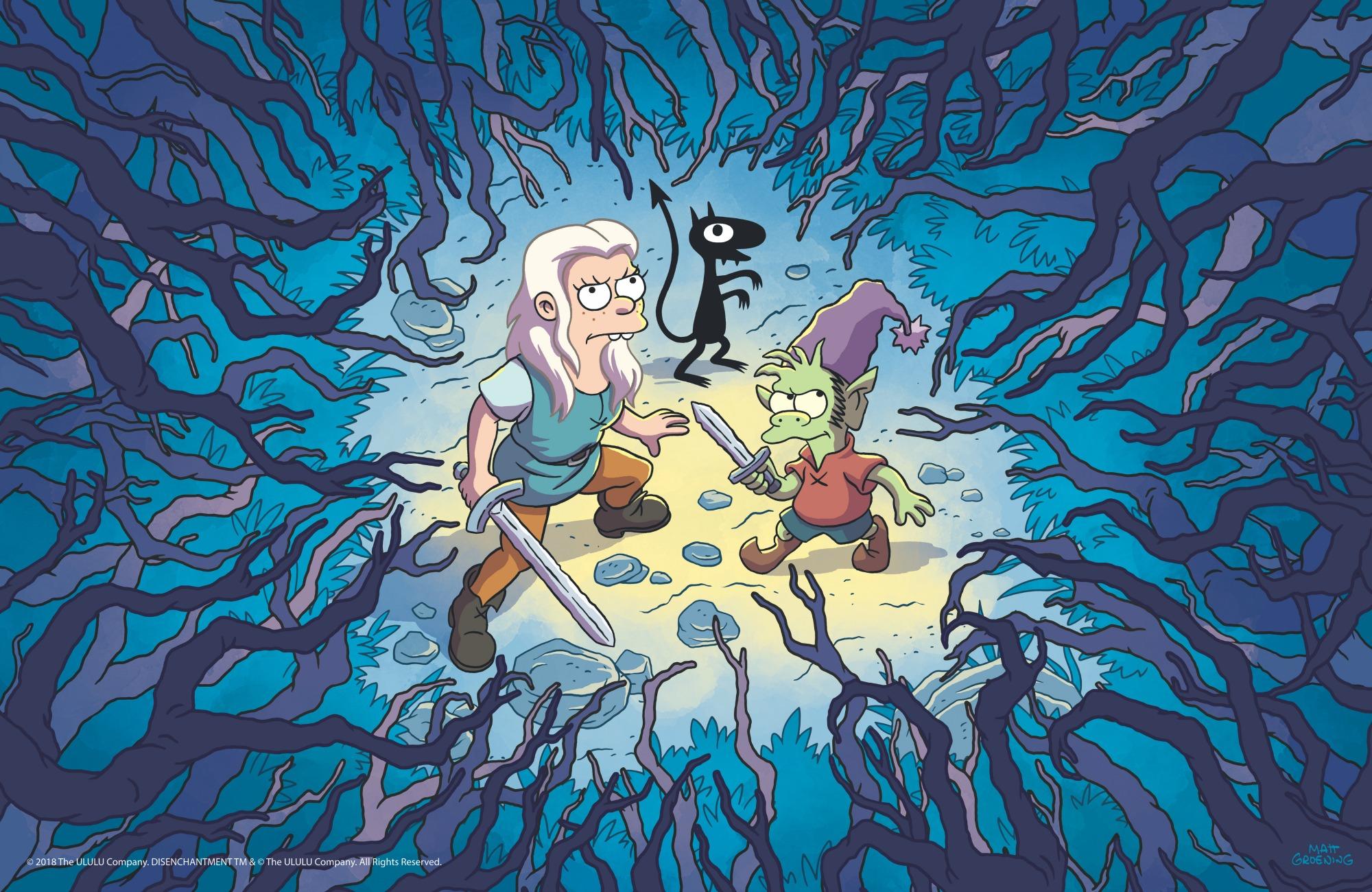 Teaser de la série animée médiévale de Matt Groening — Désenchantée