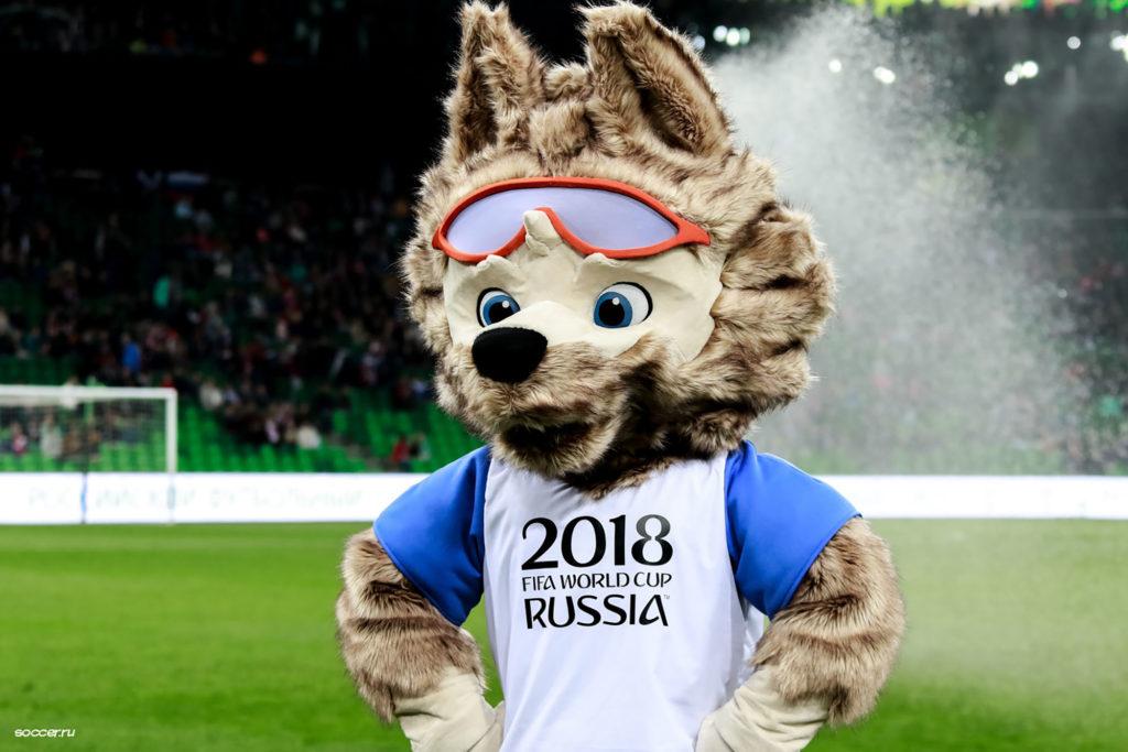 mascotte russie football