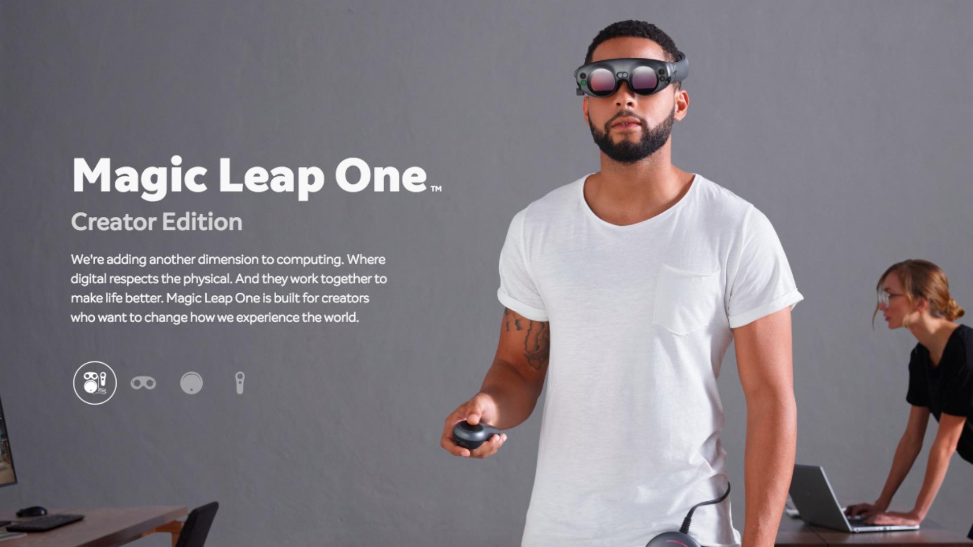 Le mystérieux casque de réalité mixte de Magic Leap a été montré au cours d'une émission TV brésilienne - Tech