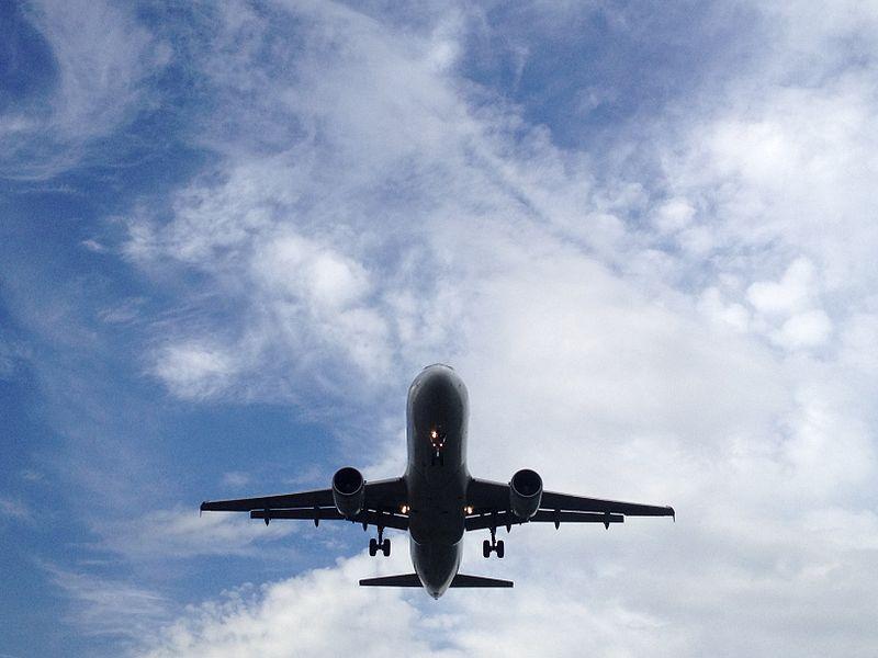 Brancher sur l'avion