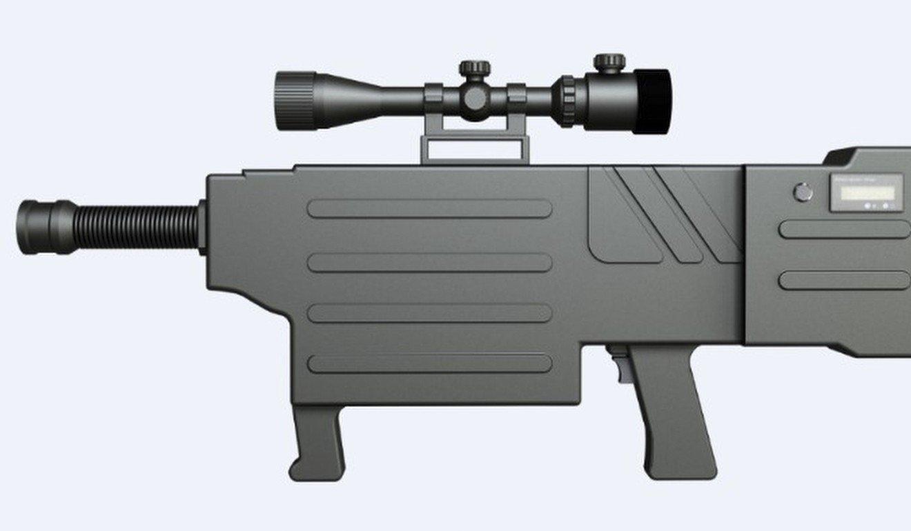Voici le fusil d'assaut laser: ce n'est pas de la science-fiction