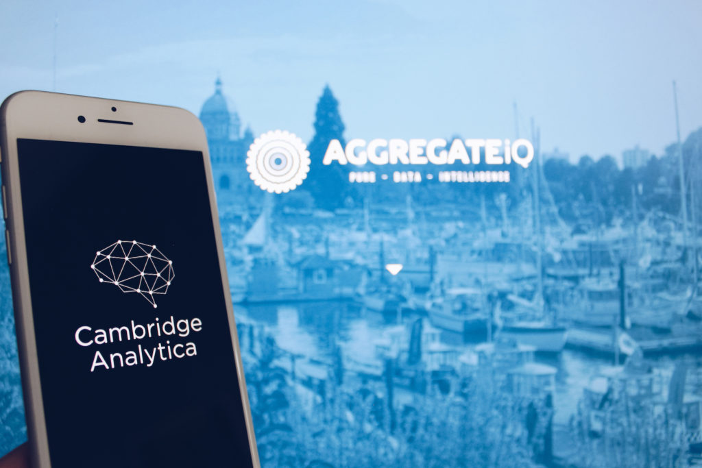 cambridge analytica AggregateIQ