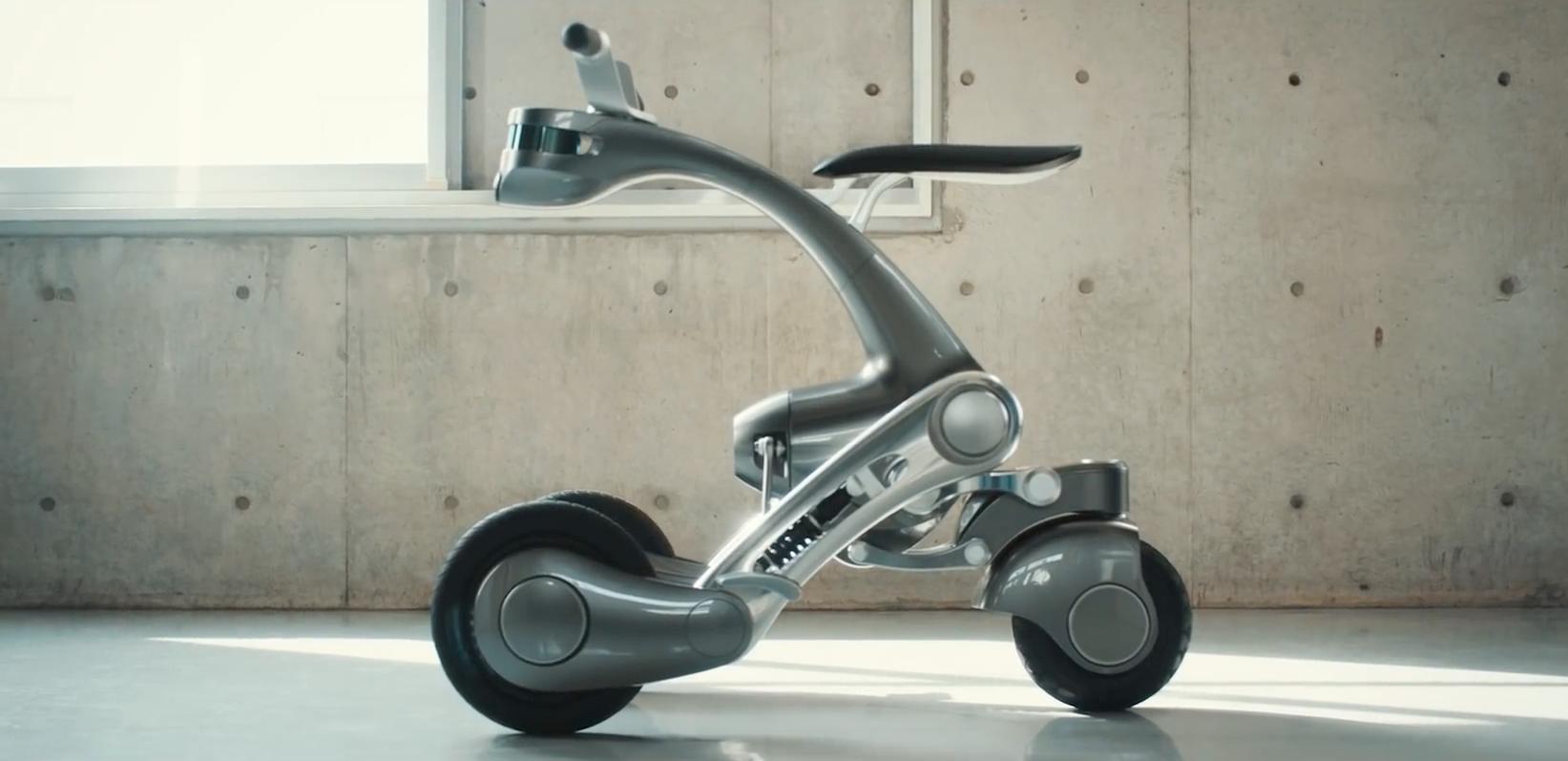 le robot assistant canguro se transforme en v lo lectrique tech numerama. Black Bedroom Furniture Sets. Home Design Ideas