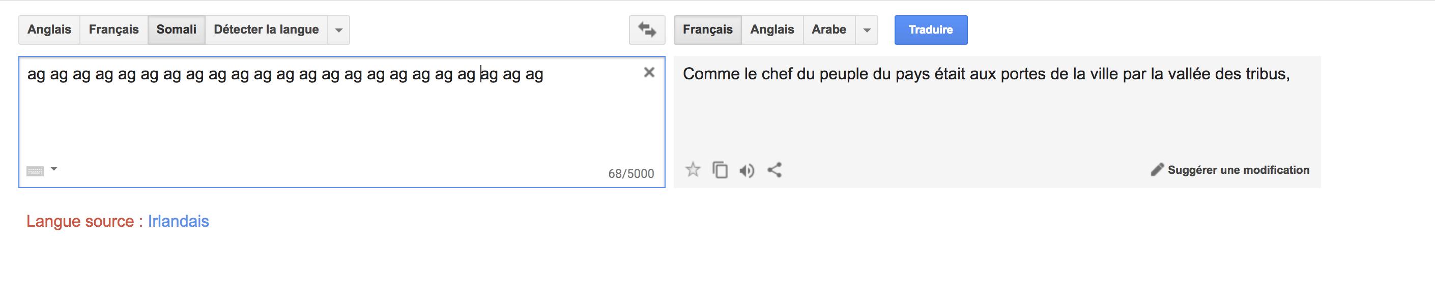quand google traduction devient mystique    u00ab nous approchons de la fin des temps et du retour de