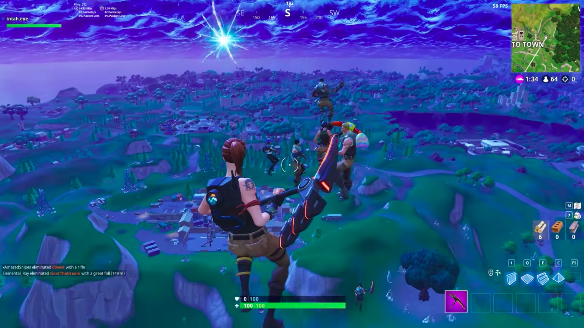 Fortnite Event A Rascal Exploited The Wonder Of The Players To Kill
