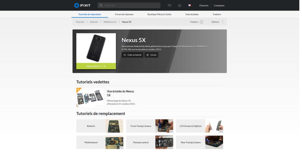 iFixit Nexus 5X