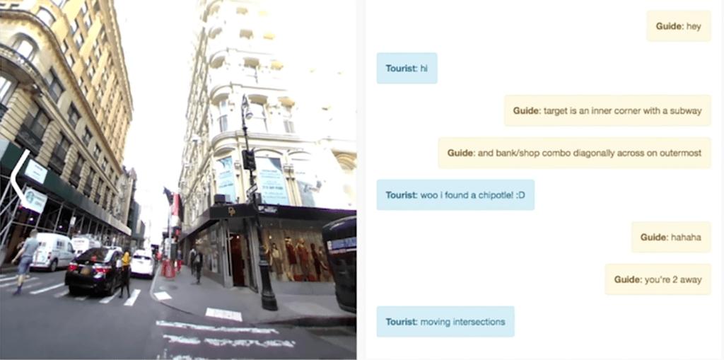 Pour former des IA, Facebook leur fait jouer les guides touristiques