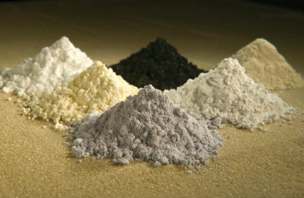 Terres rares matières premières