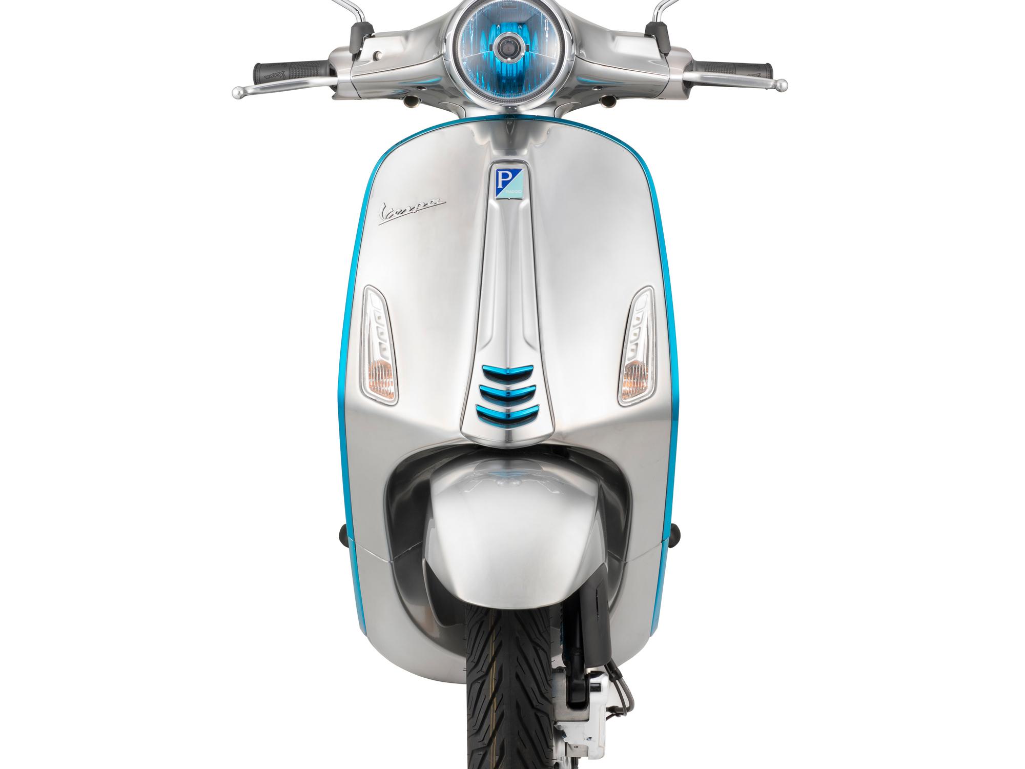 Vespa va commercialiser son premier scooter électrique en octobre