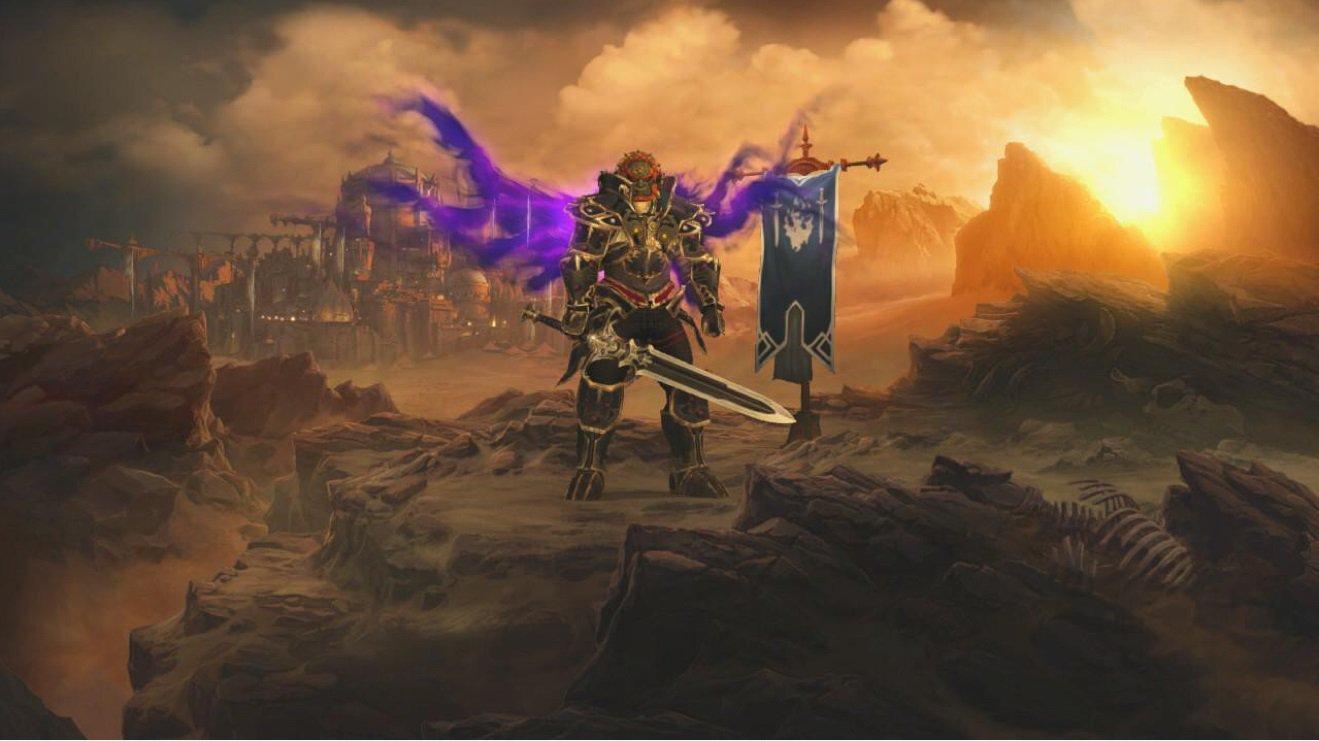Diablo 3 en fuite sur Switch avec une armure Ganondorf