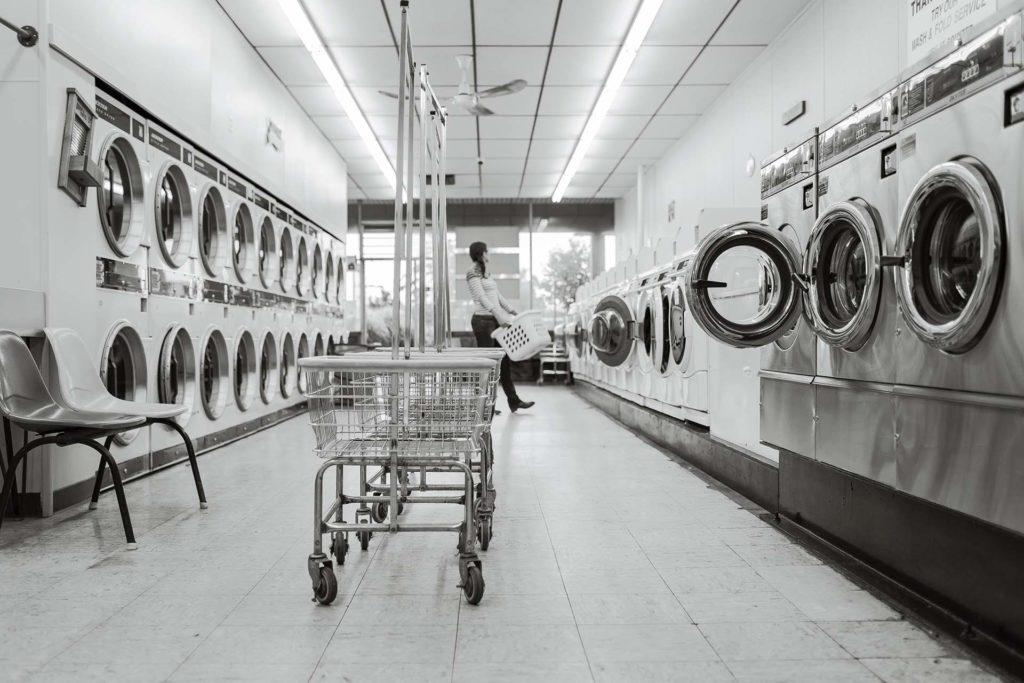 laverie machine à laver