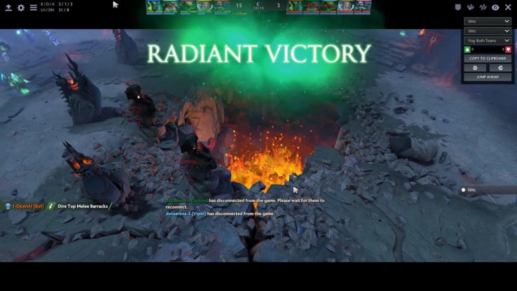radiant victory
