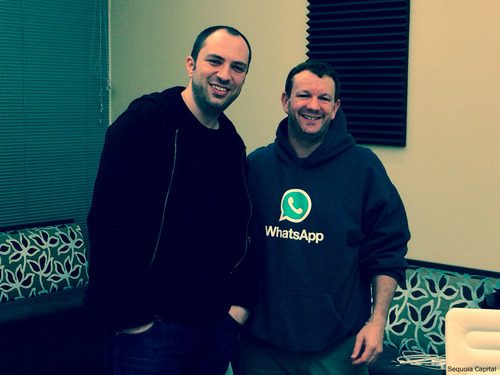 Brian Acton Jan Koum
