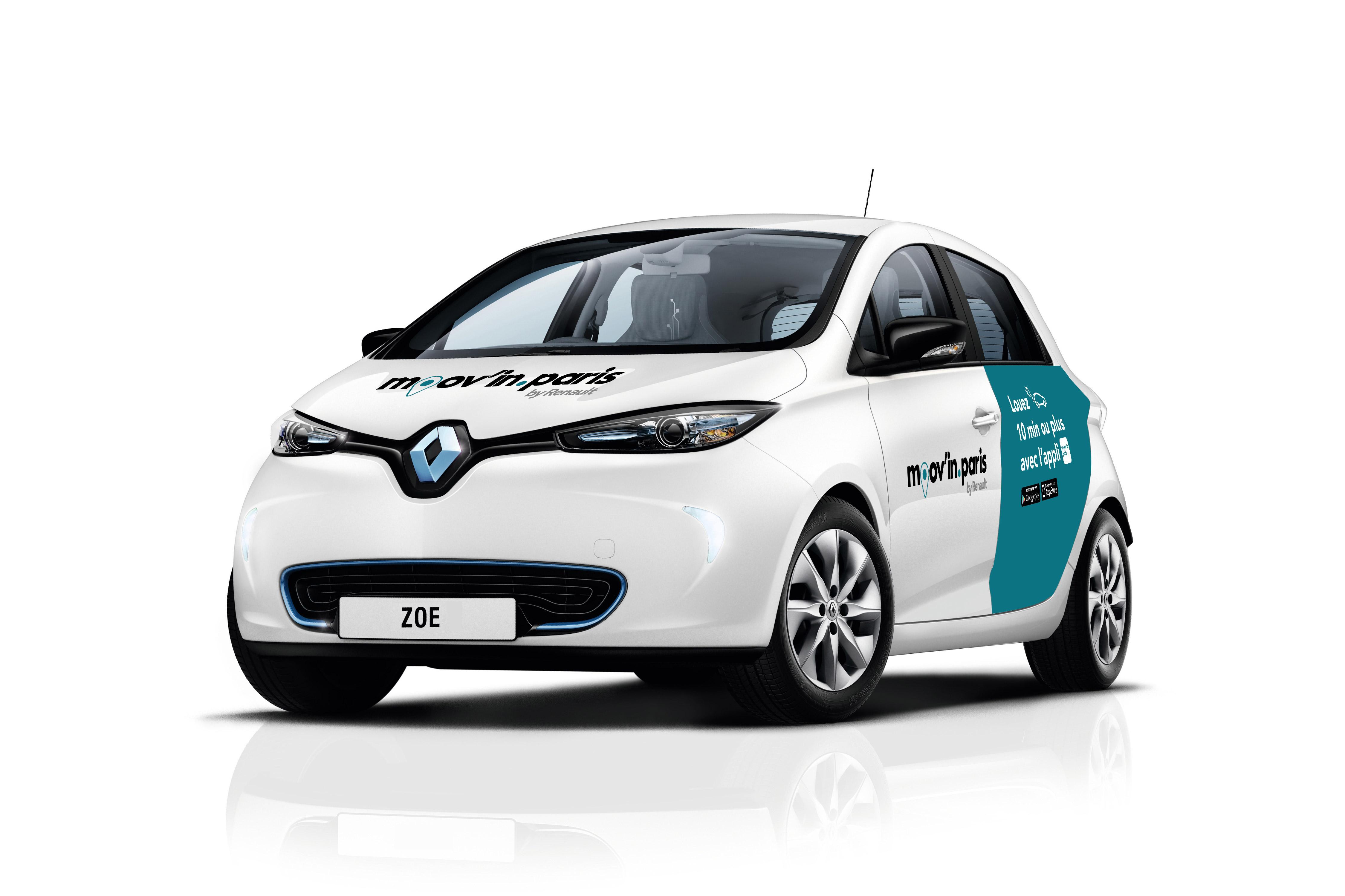 Voitures électriques En Autopartage Renault Lance Son