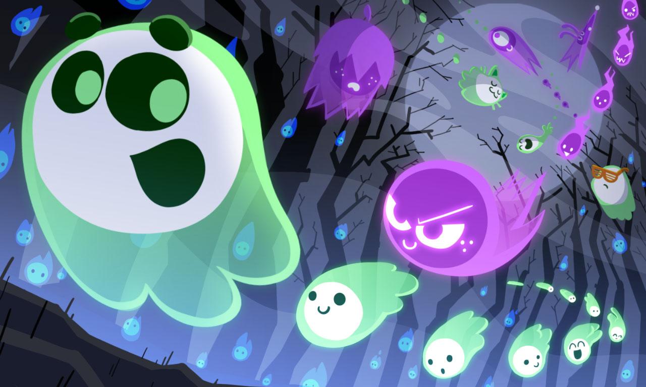 Google Doodle Halloween