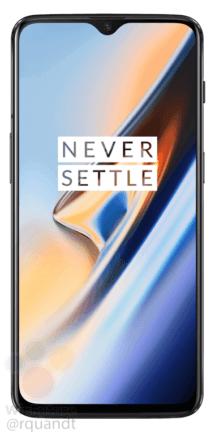 OnePlus 6T leak avant