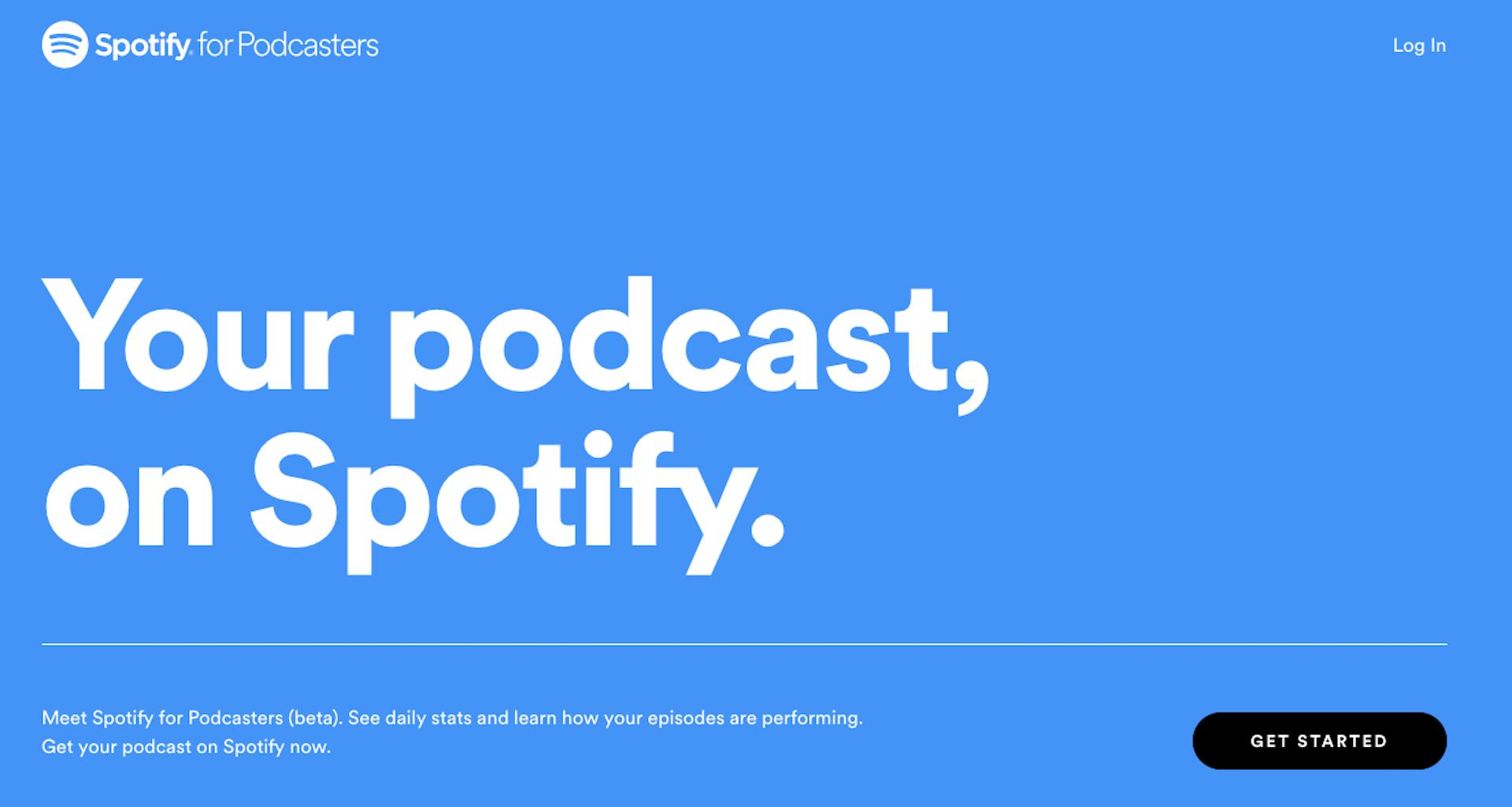 spotify permet a tout le monde de diffuser son podcast voici comment l ajouter