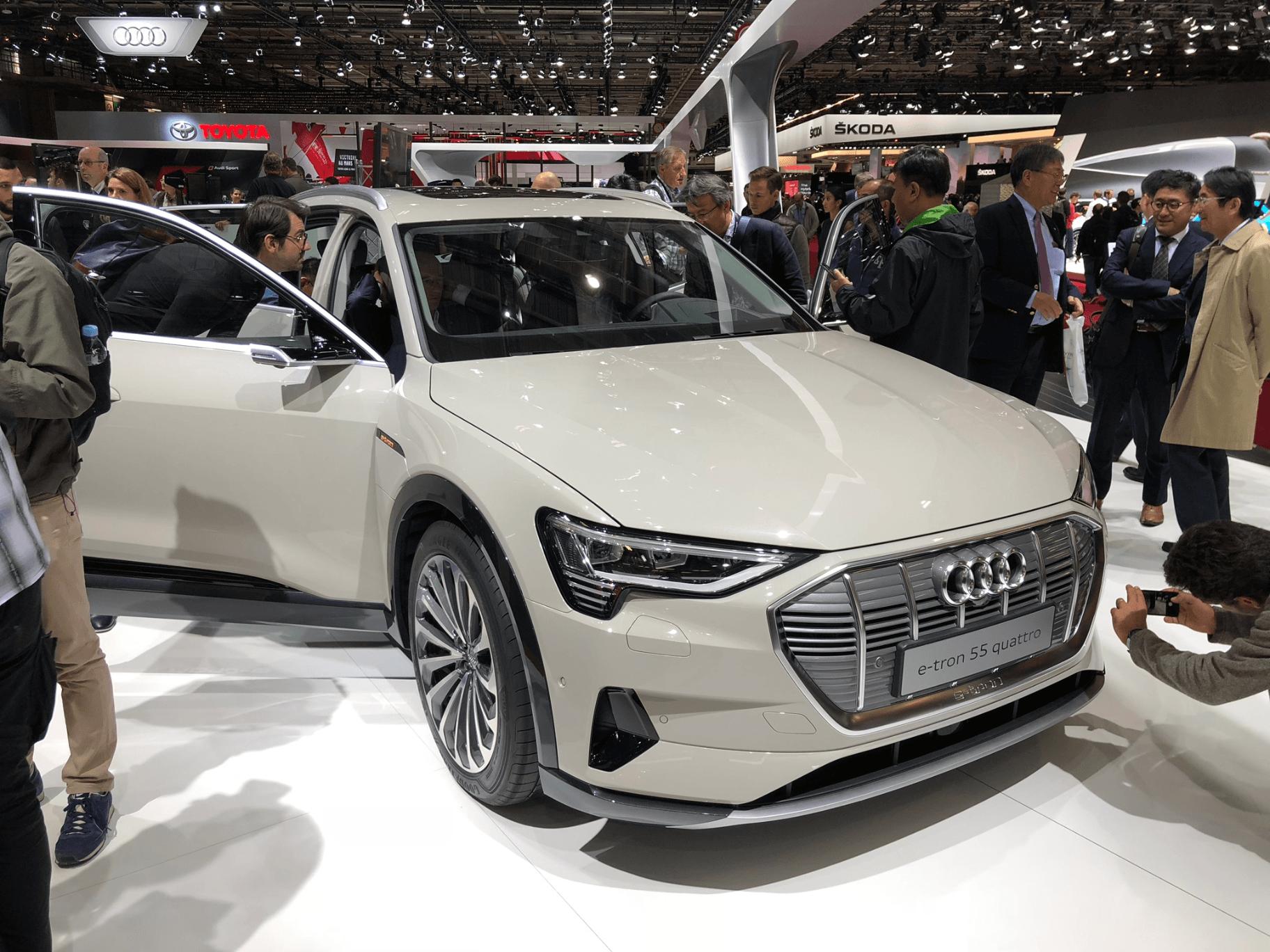 Pas assez de batteries ? Audi pourrait produire moins de SUV électriques en 2019 que prévu