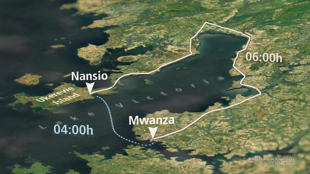 Situation de l'île