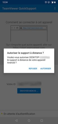 TeamViewer authentification
