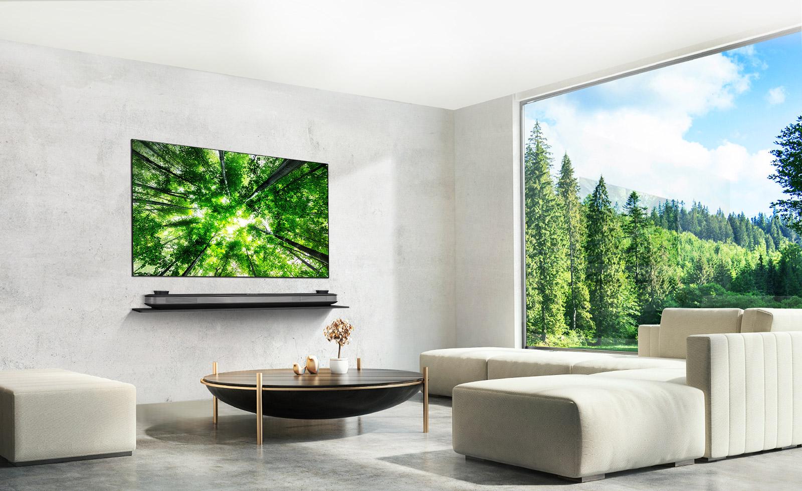Comment Installer Tv Au Mur test du téléviseur lg oled w8 signature : le design au prix fort