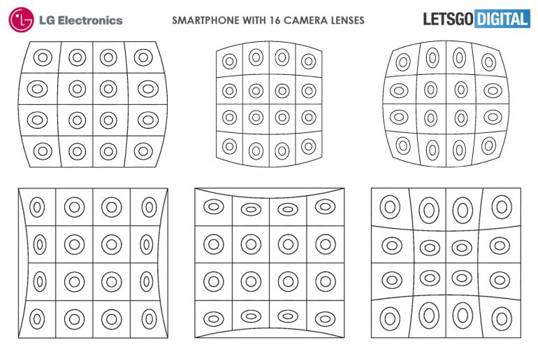 LG brevet capteurs photographiques