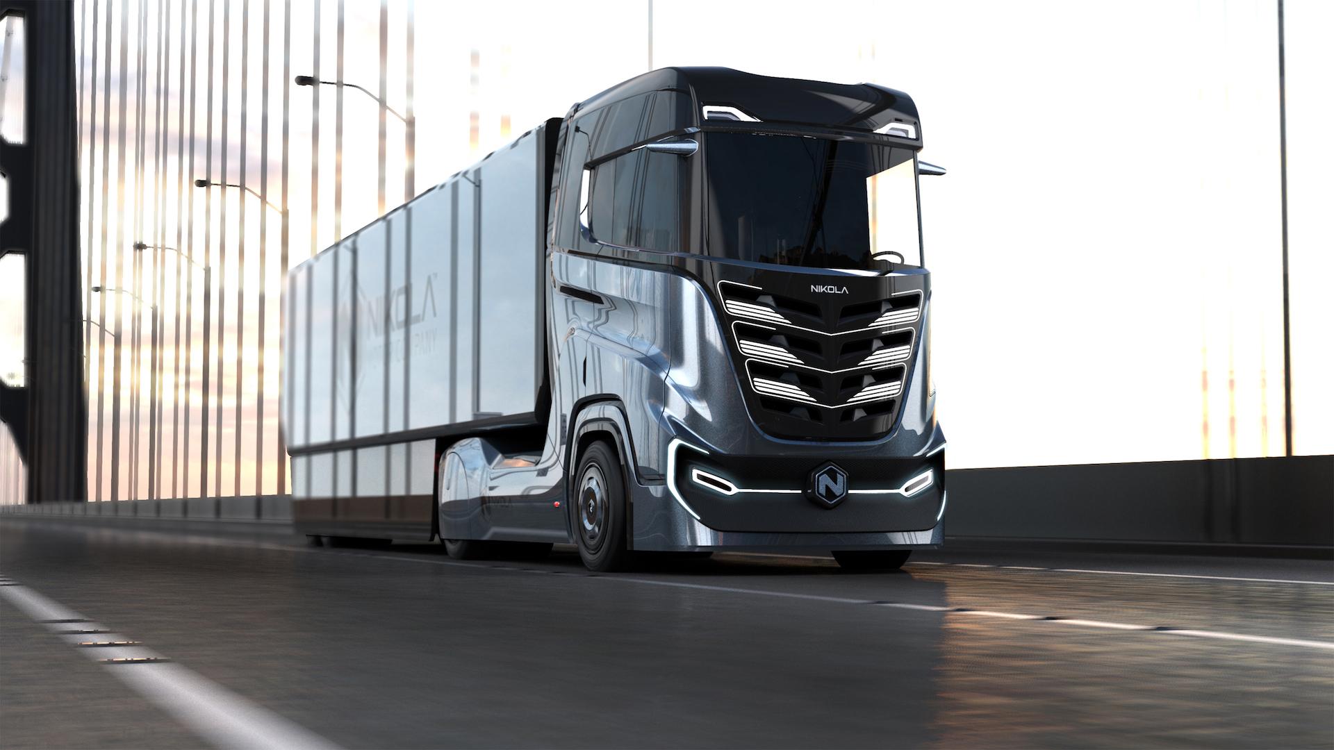 1 300 km d'autonomie pour son camion électrique : Nikola vante une batterie révolutionnaire