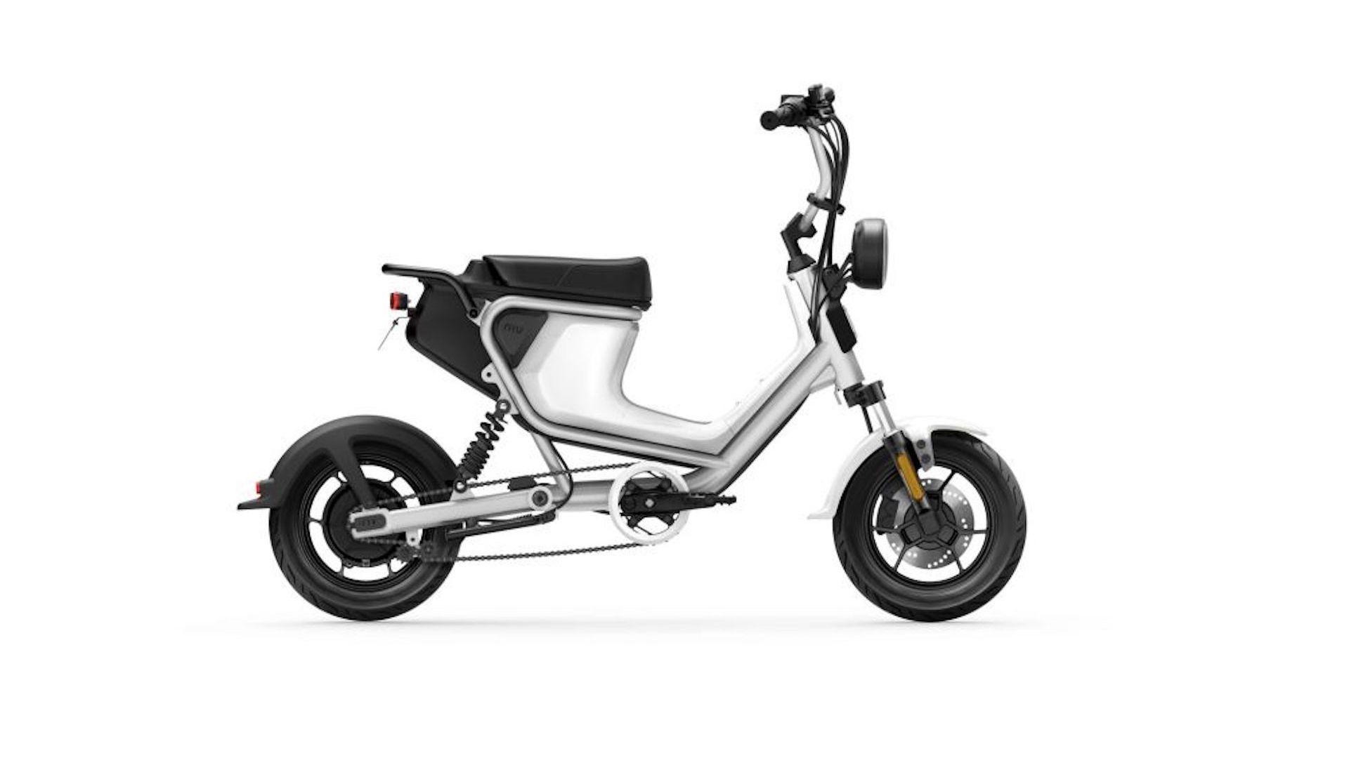 niu pr sente son u mini un scooter lectrique l 39 allure. Black Bedroom Furniture Sets. Home Design Ideas