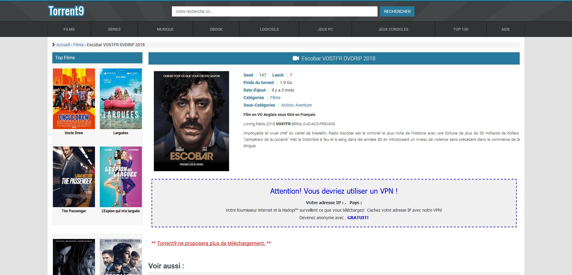torrent9 film 2017