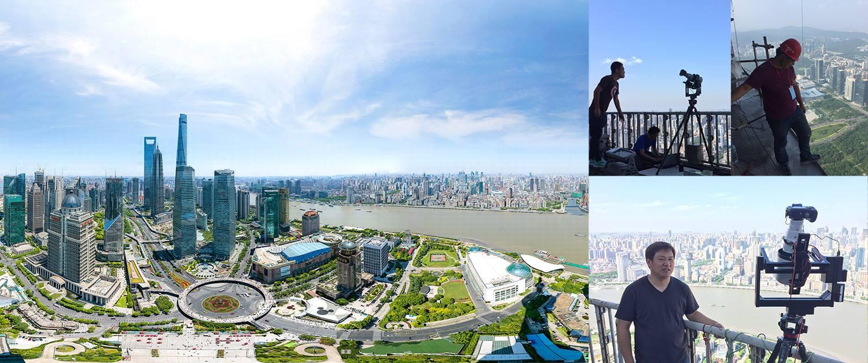 Vous allez passer du temps à zoomer sur ce panorama de Shanghai de 195 gigapixels