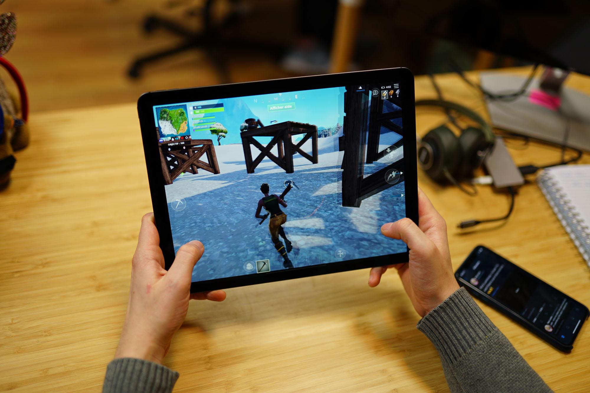 Fortnite : jouer sur iPad Pro est désormais 4 fois mieux que sur Switch