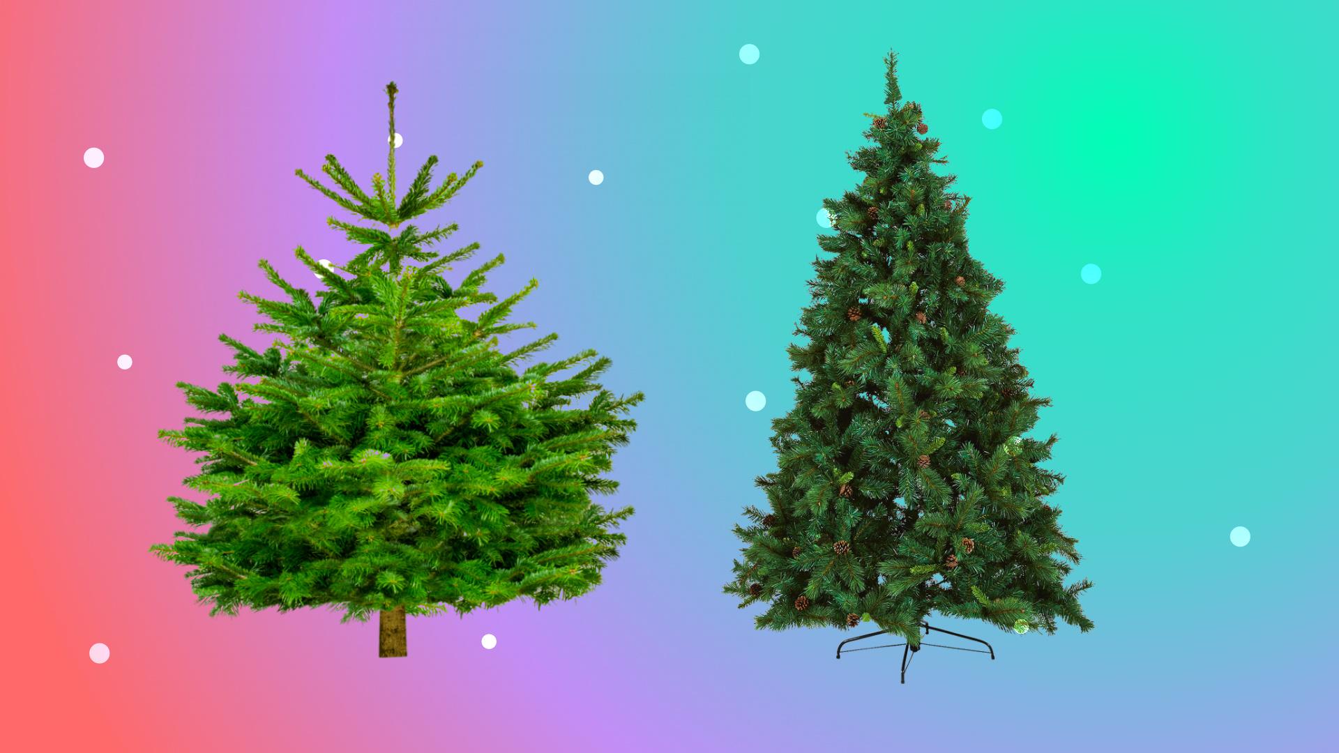 Vrai sapin de Noël ou sapin synthétique : lequel est le plus