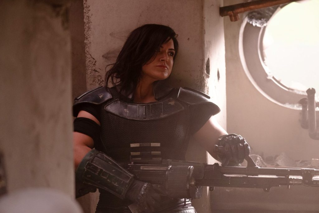 the-mandalorian-celebration-Gina Carano