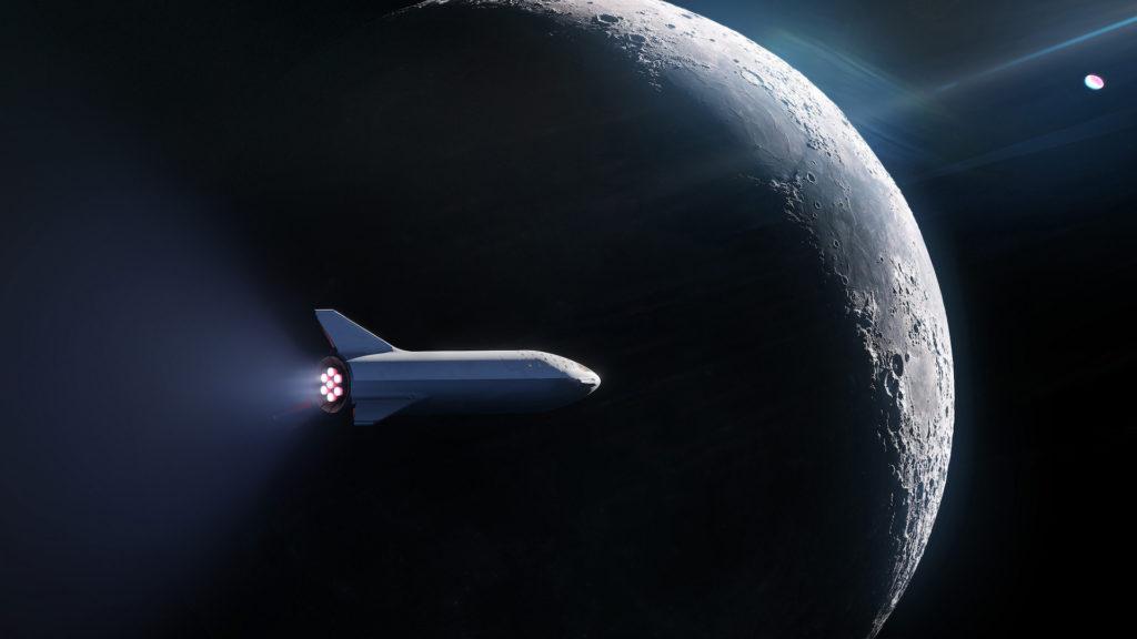 Starhopper - Suivi du développement - Page 17 Bfr-spacex-starship-lune-1024x576