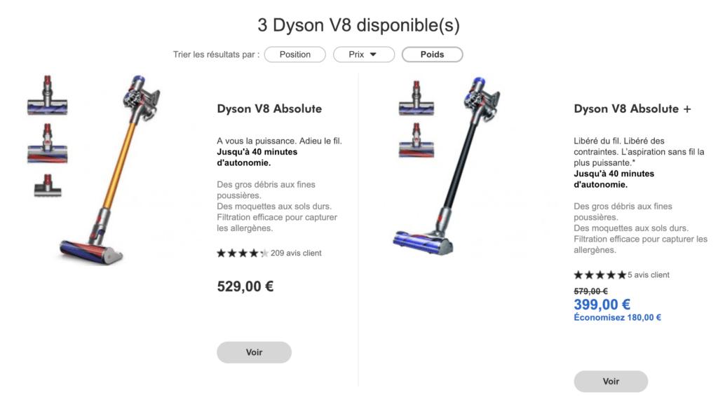 comment nettoyer un dyson v8