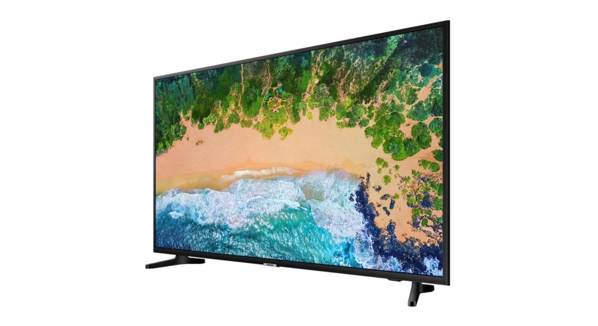 le deal du jour la tv led de samsung compatible 4k uhd. Black Bedroom Furniture Sets. Home Design Ideas