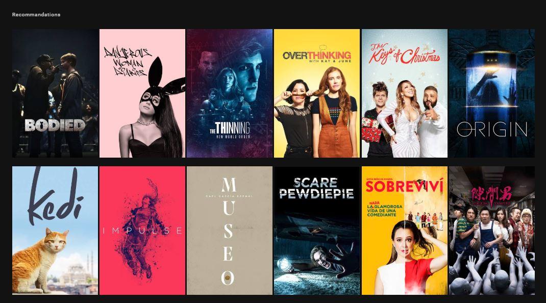 Des films complets présents sur youtube mais que google