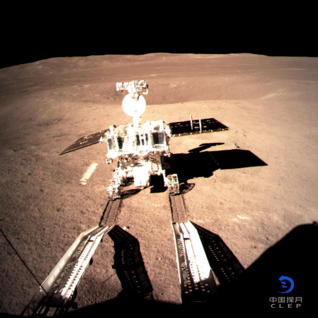 Découvrez l'arrivée de la mission Chang'e 4 sur la face cachée de la Lune - Sciences