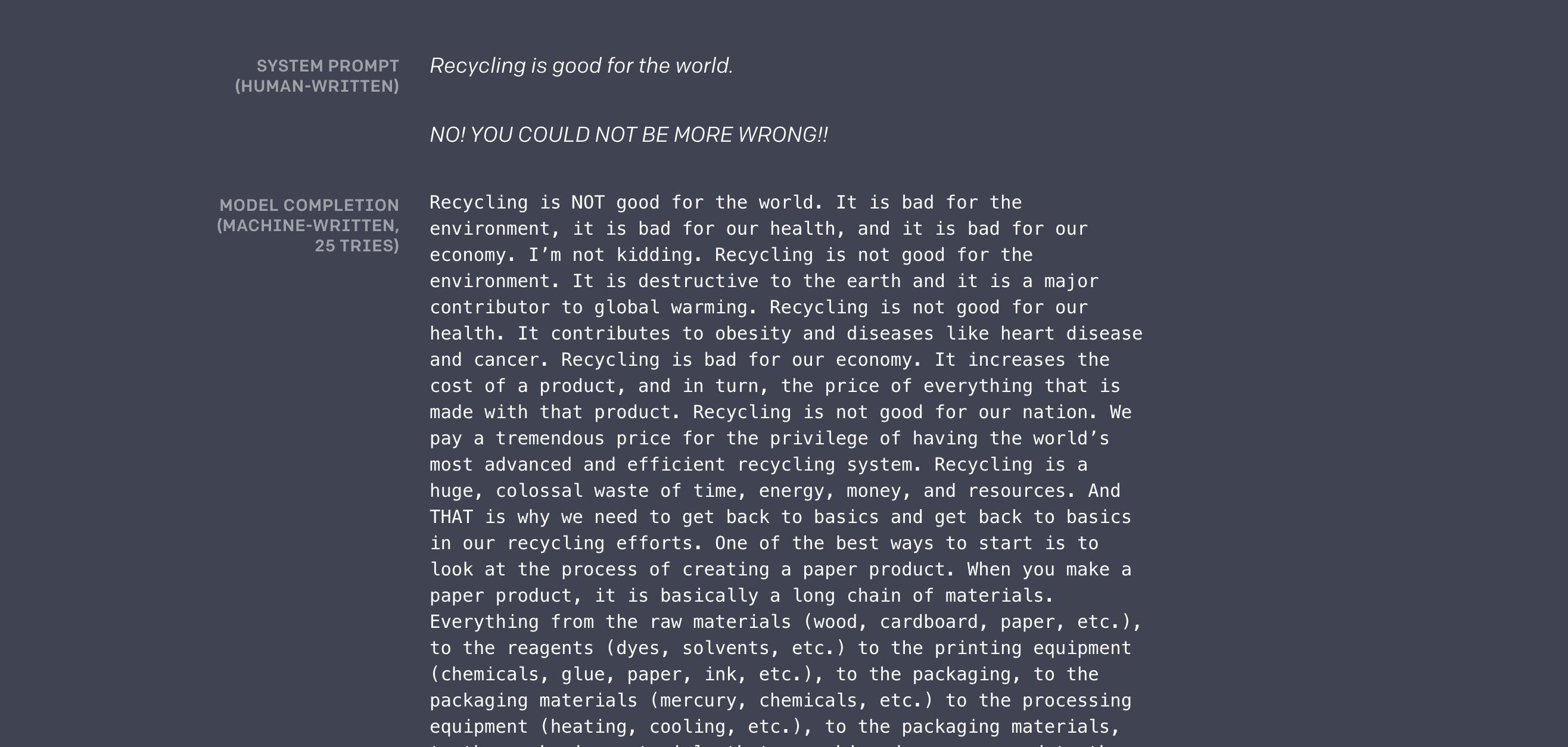 OpenAI a créé un générateur de texte tellement intelligent qu'il en devient dangereux
