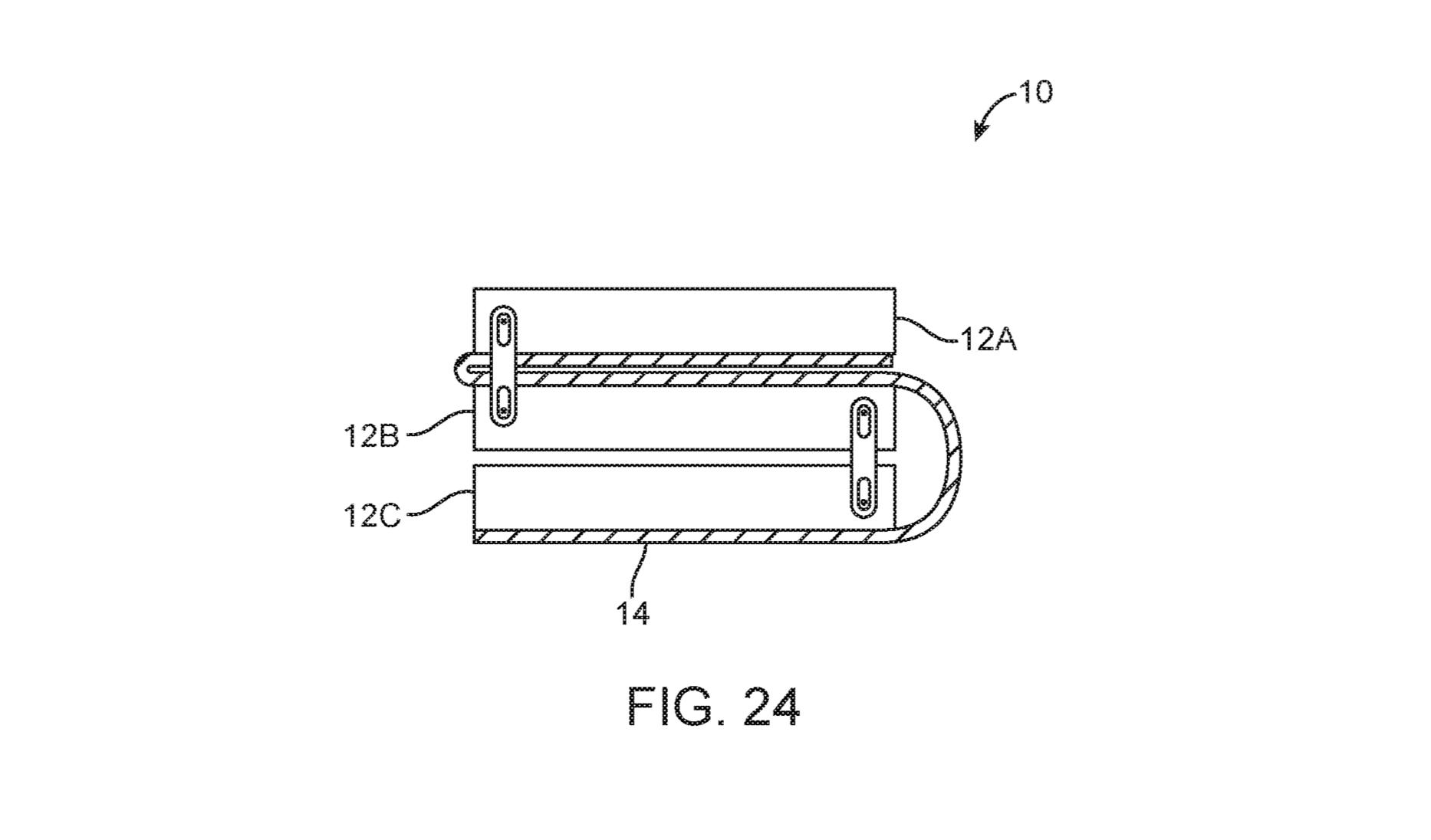 Tremble, Galaxy Fold : Apple a déposé un brevet pour un téléphone pliable