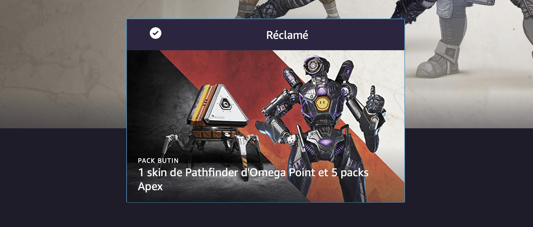 Apex Legends offre des cadeaux aux abonnés Twitch Prime