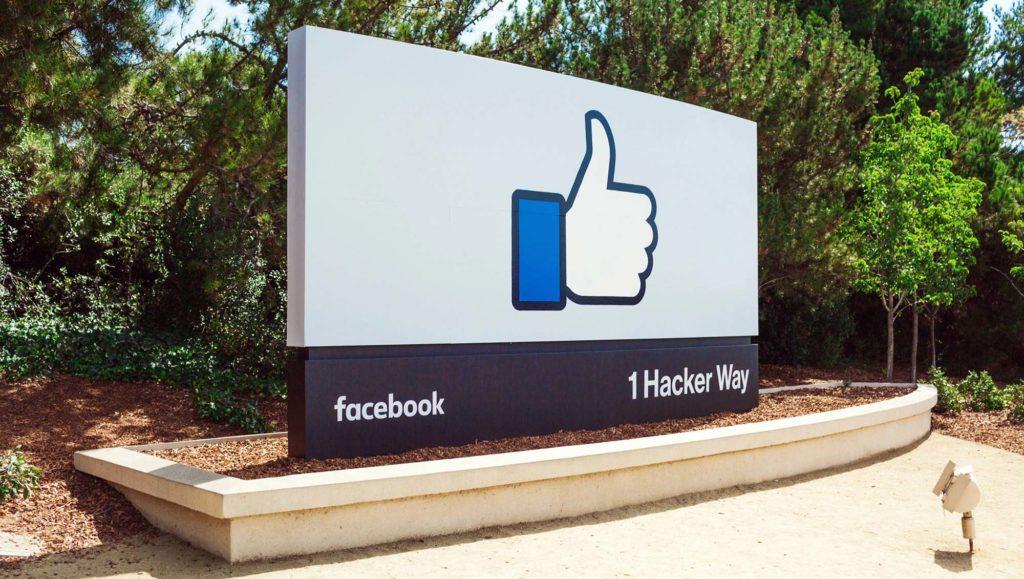 Facebook panneau