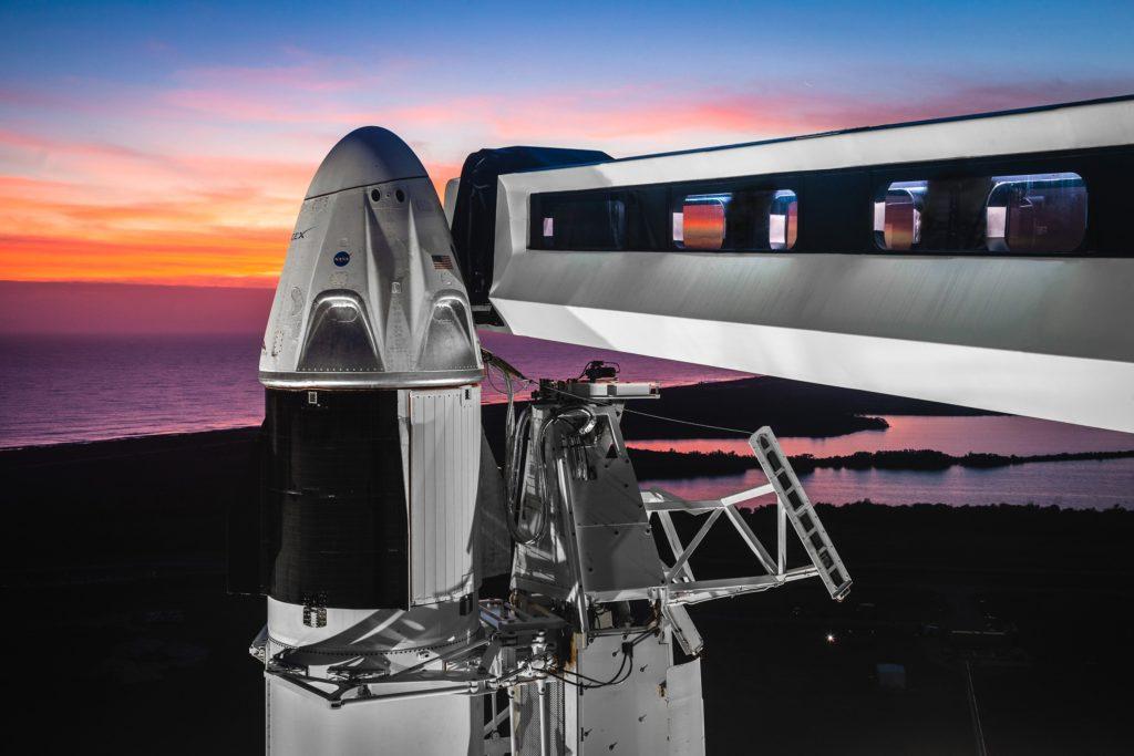 Falcon 9 Dragon SpaceX