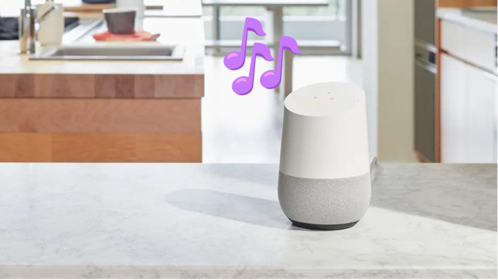 YouTube Music propose une version gratuite avec pub sur les enceintes Google Home