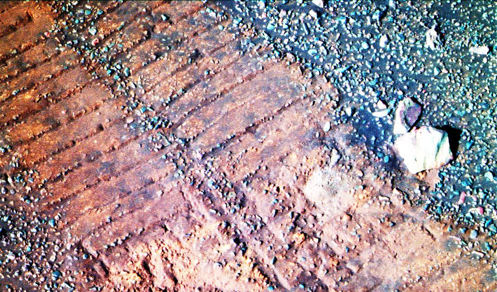 Opportunity et l'exploration du cratère Endeavour - Page 14 Opportunity-mars-rover-traces-nasa