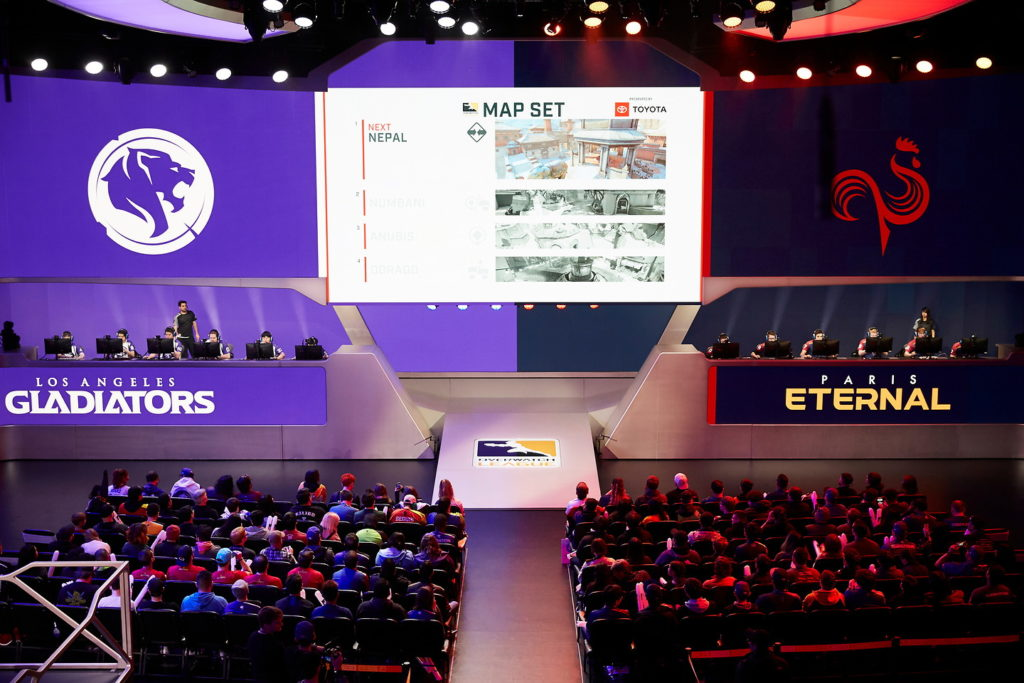 Paris Eternal vs LA Gladiators