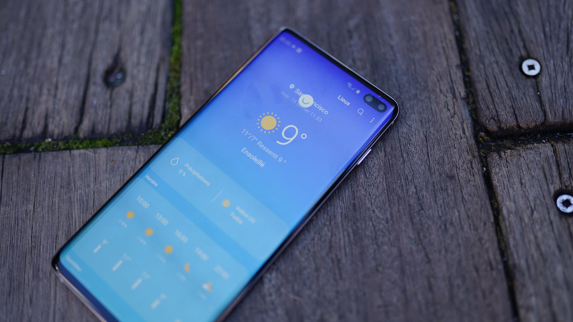 Ce qui cloche avec le Samsung Galaxy S10