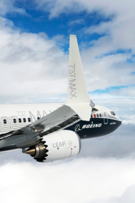 ailette du 737 MAX