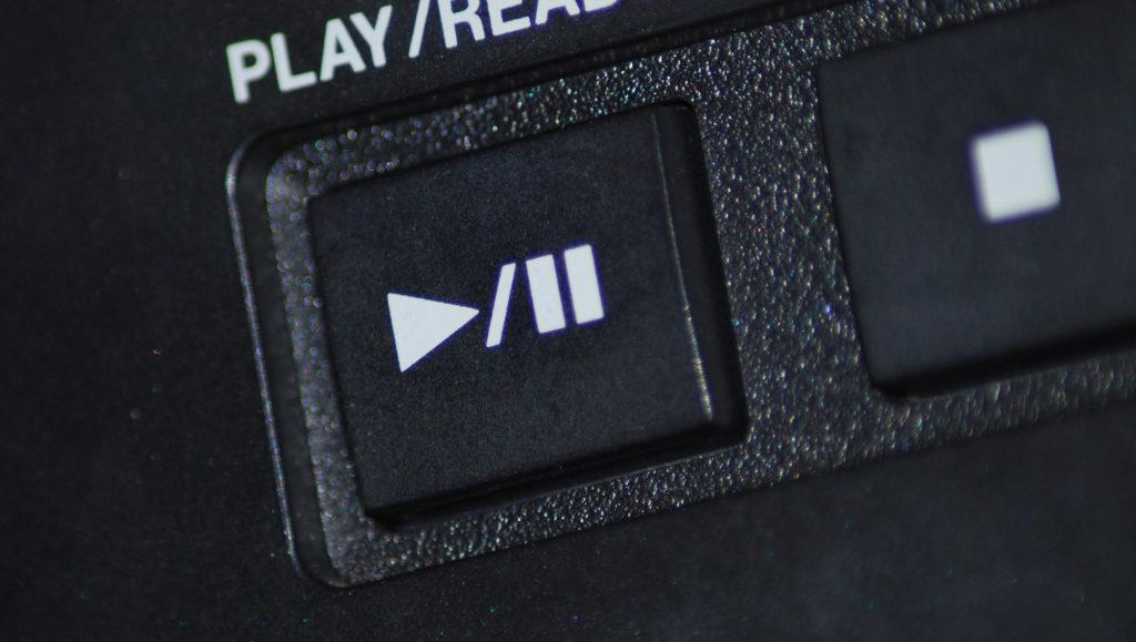 bouton lecture play vidéo