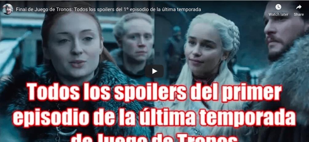 Game of Thrones : des spoilers sur le premier épisode de la saison 8 sèment un vent de panique